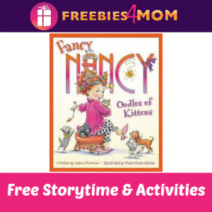 Fancy Nancy Storytime at Barnes & Noble