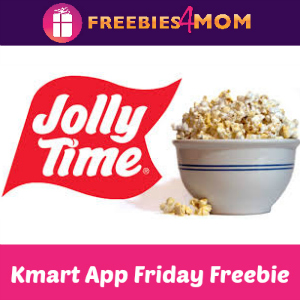 Free Jolly Time Popcorn at Kmart