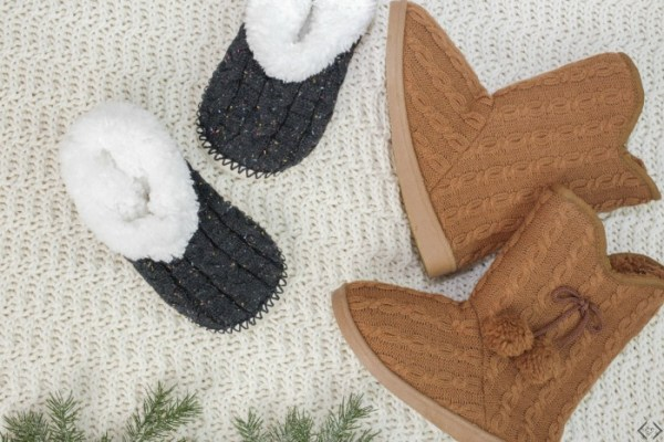 2 Pairs of Slippers $22