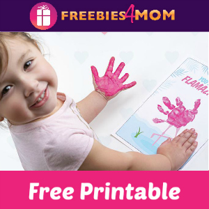 Free Handprint Valentine's Day Crafts