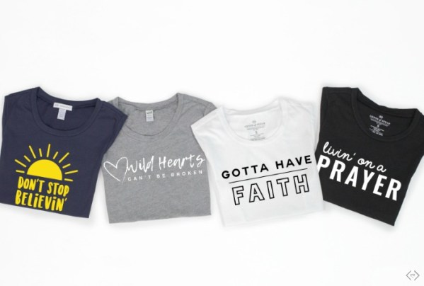 45% off Graphic Tops + Free Necklace