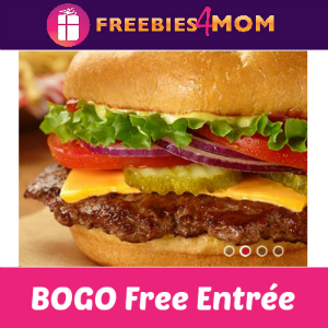 BOGO Free Entrée at Smashburger