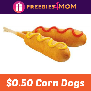 $0.50 Corn Dogs at Sonic May 24