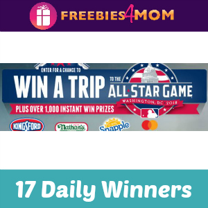 Sweeps MLB All-Star Week (17 Daily Winners)