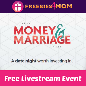 Free Money & Marriage Livestream April 18
