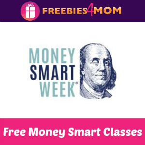 Free Money Smart Classes April 21-28