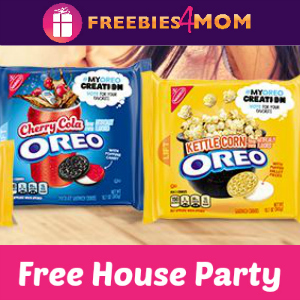 Free House Party: Oreo Cookie Taste-Off
