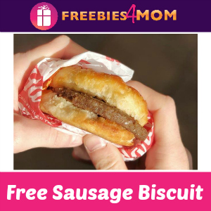 Free Sausage Biscuit at Hardee's April 17