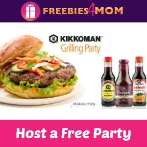 Free Kikkoman Grilling Party