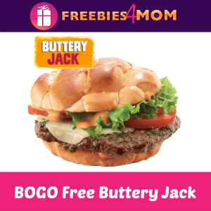 BOGO Free Buttery Jack at Jack In The Box