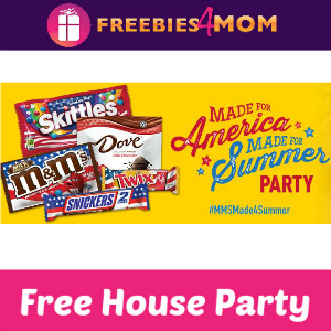Free House Party: M&M's and Skittles