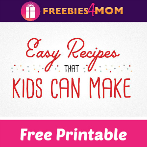 Free Printable Recipes Kids Can Make Cards