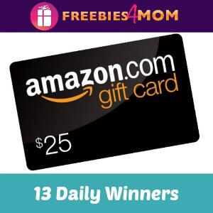 Sweeps Coca-Cola $25 Amazon Gift Card