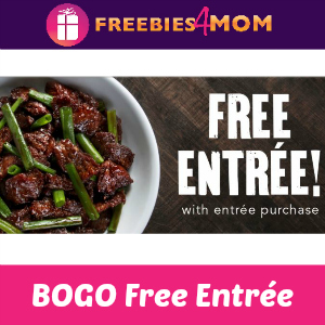 BOGO Free Entrée at P.F. Chang's