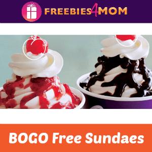 BOGO Free Sundaes at Carvel on Wednesdays