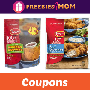 Coupons: Save on Tyson Chicken Products
