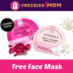 Free Sephora Face Mask In-Stores 7/27-29