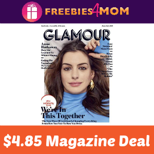 Magazine Deal: Glamour $4.85