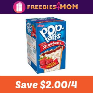 Coupon: Save $2.00 on 4 Pop-Tarts