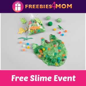 Free Slime Event at Michaels August 4