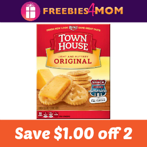 Coupon: Save $1.00 on two Town House Crackers
