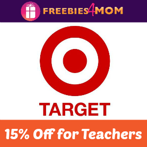 Teachers Get 15% off at Target July 15-21