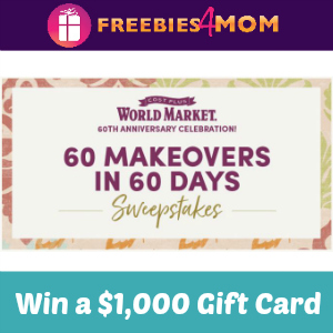 Sweeps World Market 60 Makeovers