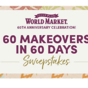 World Market 60 Makeovers in 60 Days