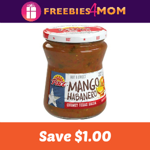 Coupon: Save $1.00 on Pace Snacking Salsa