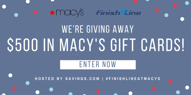 Macy's Finish Line Giveaway