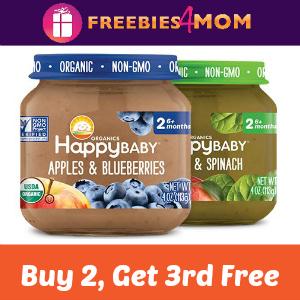 Coupon: Buy 2, Get 1 Free Happy Baby Jars