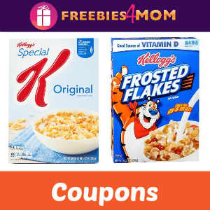 Save on Kellogg's Special K or Frosted Flakes