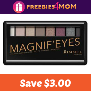 Coupon: Save $3.00 on any Rimmel Eye Product