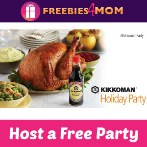 Free Kikkoman Holiday House Party