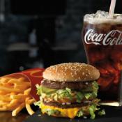 Coca-Cola McDonald's Arch Card