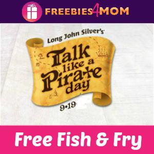 Free Fish & Fry at Long John Silver Sept. 19