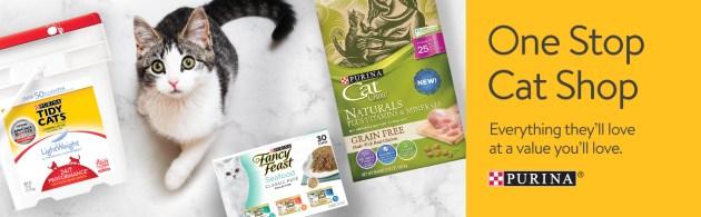 Purina Shopkick Discounts at Walmart One Stop Cat Shop