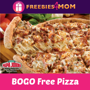Papa John's BOGO Free Pizza