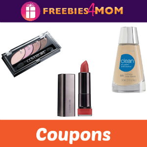 Save on Covergirl Face, Lip & Eye Products