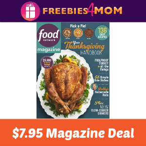 Magazine Deal: Food Network $7.95