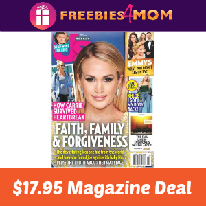 Magazine Deal: Us Weekly $17.95