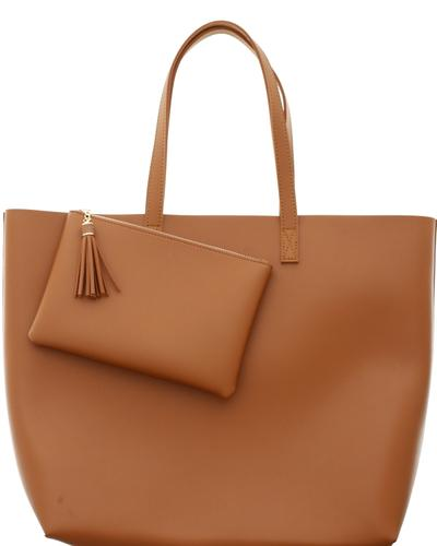Vegan Leather Tote $24.95