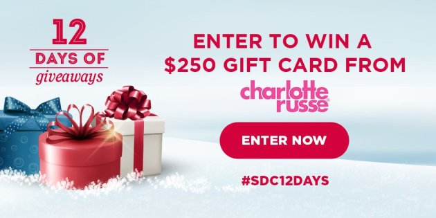 $250 Charlotte Russe 1-Day Giveaway
