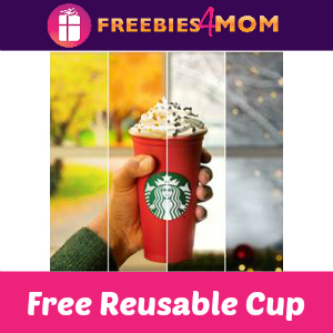 Free Reusable Cup at Starbucks