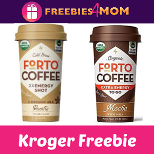 Free Forto Coffee Shot at Kroger