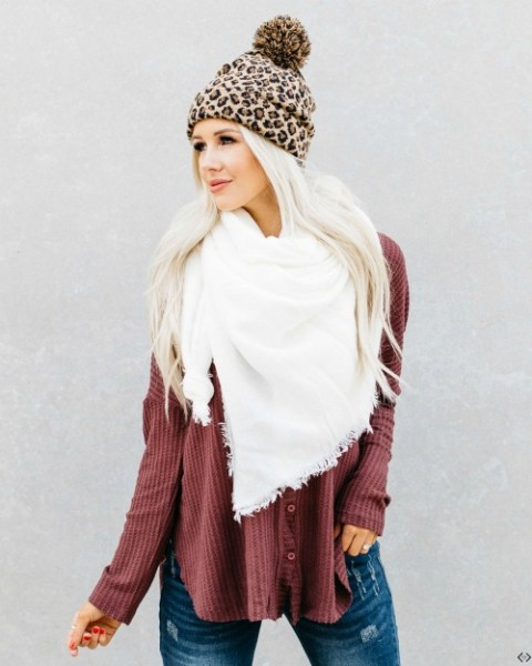 $9.98 Blanket Scarves ($20 Value)