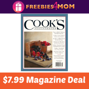 Magazine Deal: Cook's Illustrated $7.99