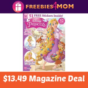 Magazine Deal: Disney Princess $13.49
