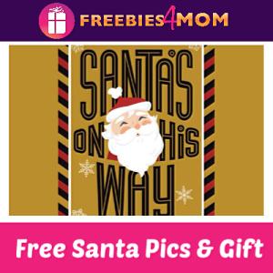 Free Santa Pics & Gift at Kohl's