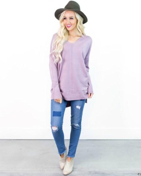 40% off V-Neck Sweater & Cardigan